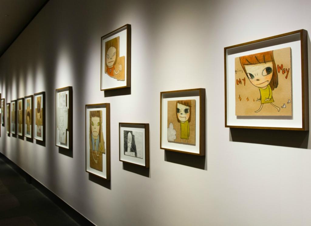 """""""Life is Only One"""": Yoshimoto Nara's first major solo exhibition in Hong Kong. Photos: Daniel Suen"""